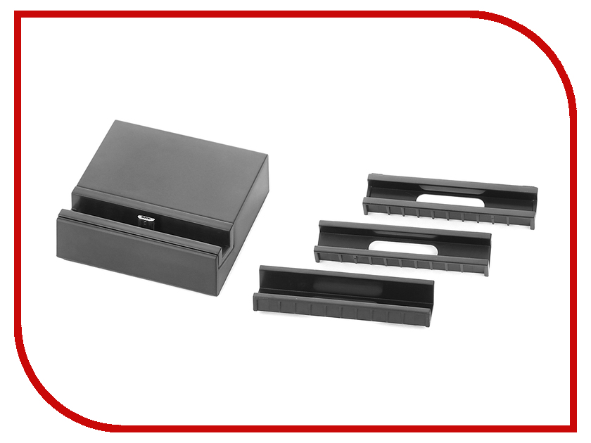 Аксессуар BROSCO док-станция MicroUSB Black MICRO-USB-DOCK-BLACK<br>