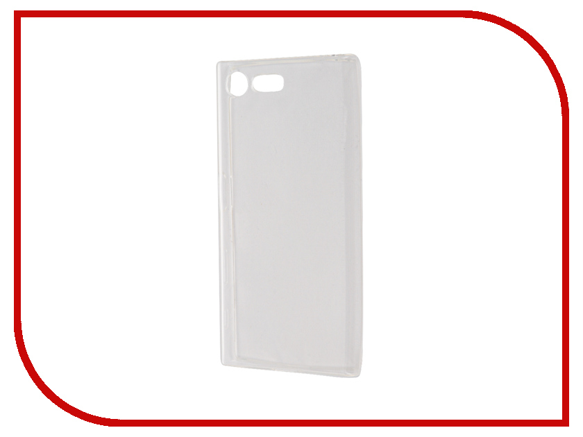 Аксессуар Чехол для Sony Xperia X Compact BROSCO Transparent XC-TPU-TRANSPARENT ikki x pattern protective tpu case for sony xperia z2 tablet p511 p512 translucent white
