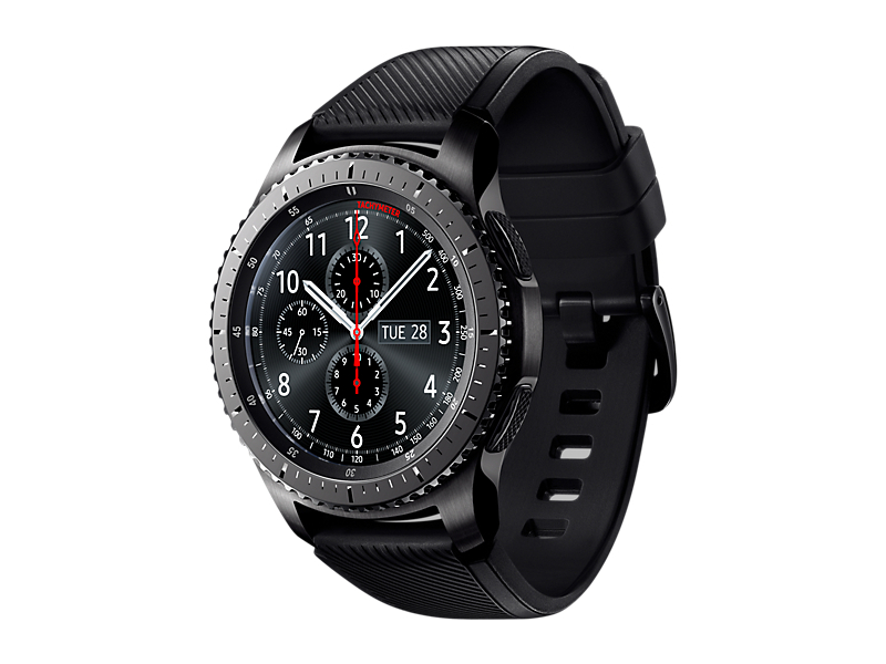 Умные часы Samsung Gear S3 Frontier SM-R760NDAASER Dark Grey samsung gear fit 2 gray