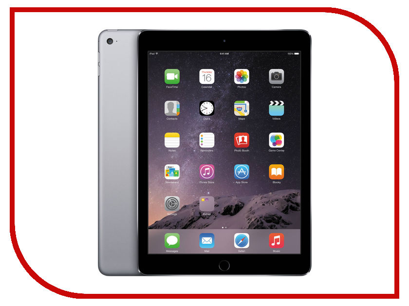 Планшет APPLE iPad Air 2 32Gb Wi-Fi Space Grey MNV22RU/A<br>