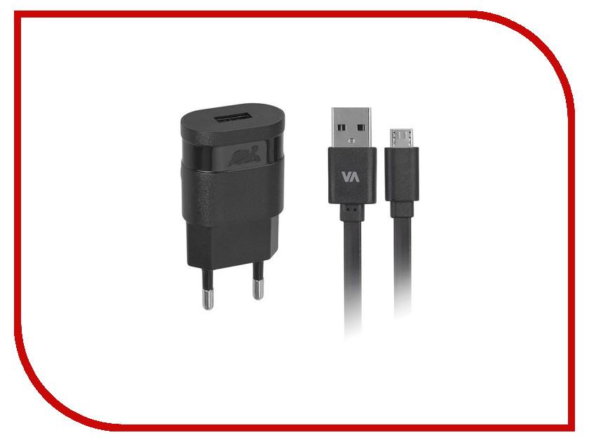 Зарядное устройство RivaCase Rivapower USB to Micro USB 1000mA Black VA4111 BD1