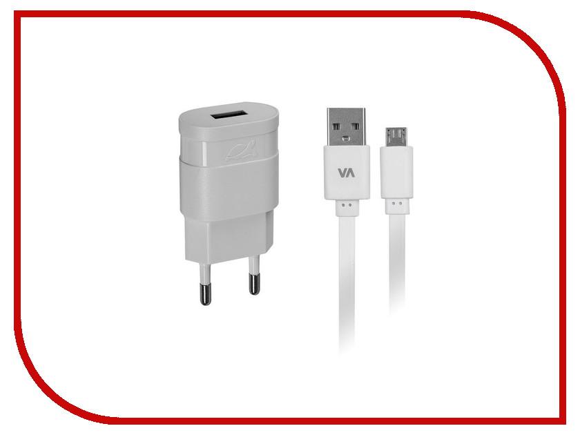Зарядное устройство RivaCase Rivapower USB to Micro USB 1000mA White VA4111 WD1