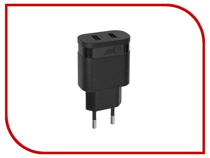 Зарядное устройство RivaCase Rivapower 2xUSB 2400mA Black VA4122 B00<br>