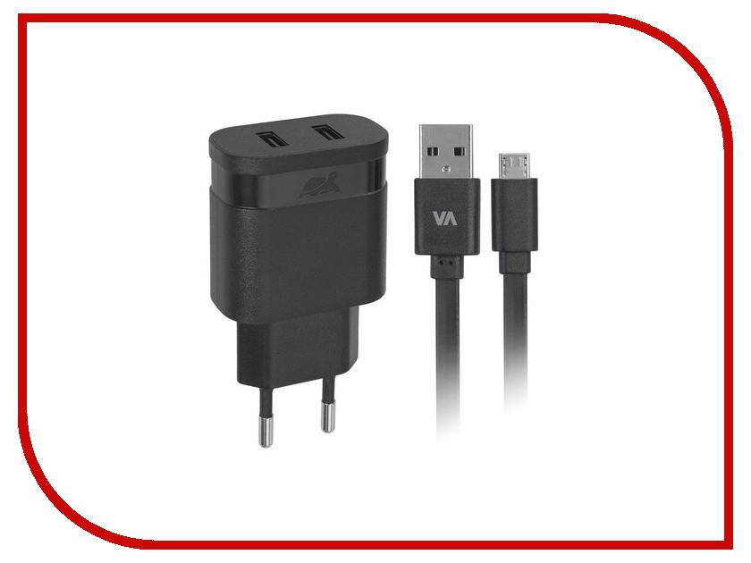 Зарядное устройство RivaCase Rivapower 2xUSB to Micro USB 3400mA Black VA4123 BD1<br>