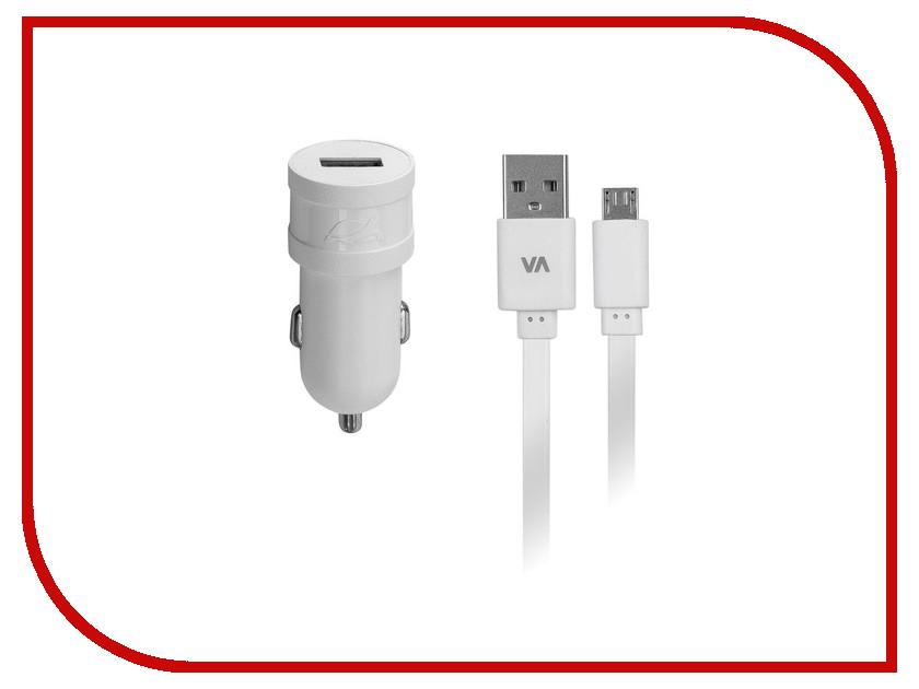 Зарядное устройство RivaCase Rivapower USB to Micro USB 1000mA White VA4211 WD1<br>