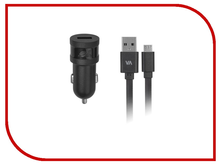 Зарядное устройство RivaCase Rivapower USB to Micro USB 1000mA Black VA4211 BD1<br>