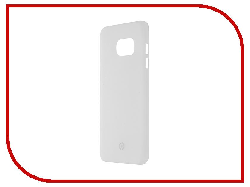 Аксессуар Чехол Samsung Galaxy S7 Edge Celly Frost White FROSTS7E<br>