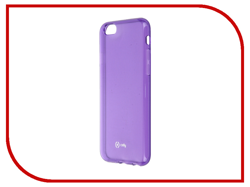 Аксессуар Чехол Celly Gelskin для APPLE iPhone 6 / 6S Violet GELSKIN600V<br>
