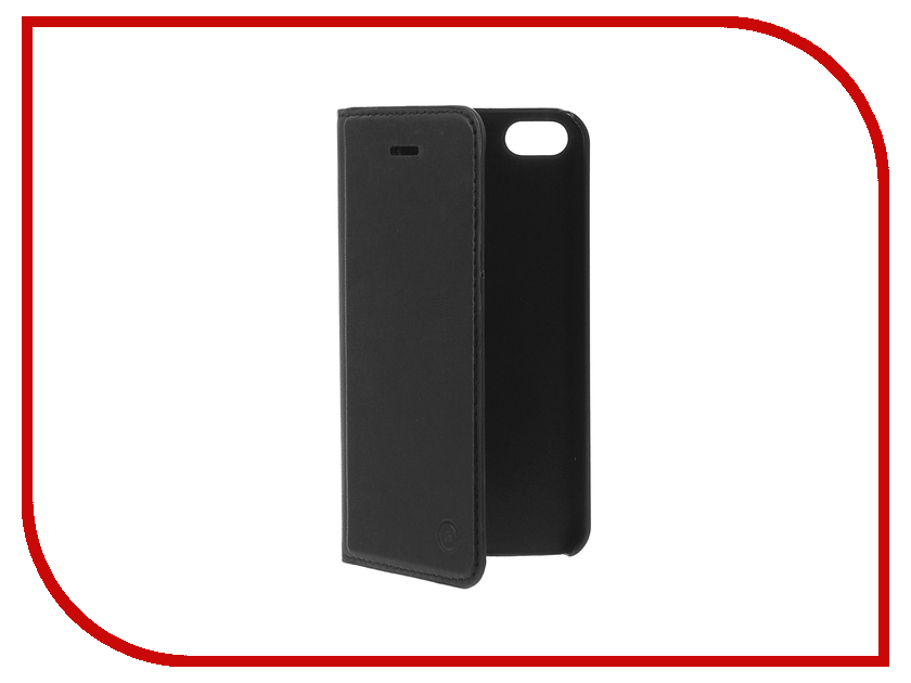 Аксессуар Чехол Muvit Folio Stand Case для APPLE iPhone 5/5S/SE Black MUSNS0272<br>