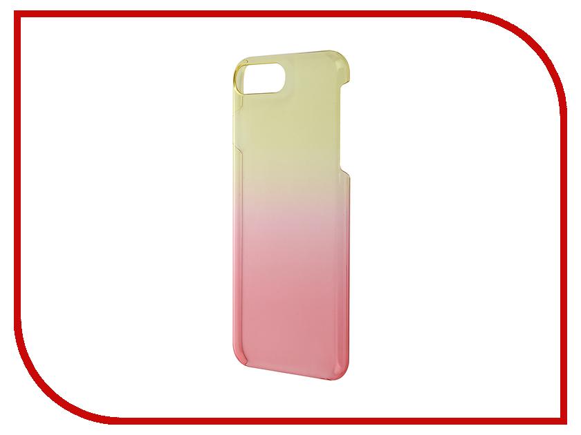 Аксессуар Чехол Muvit Life Vegas для APPLE iPhone 7 Plus Yellow-Pink MLBKC0103<br>