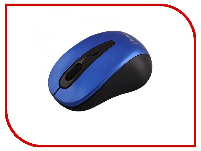 Мышь беспроводная Oxion OMSW015 Blue