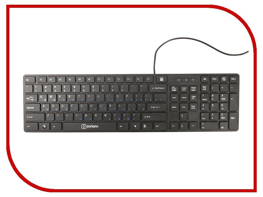 Клавиатура Oxion OKB007BK Black
