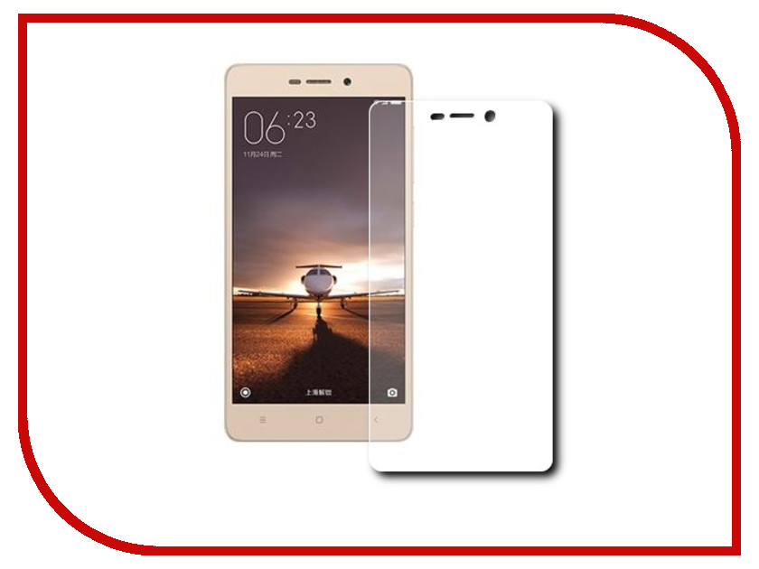 Аксессуар Защитное стекло Xiaomi Redmi 3 Onext Eco 43076<br>