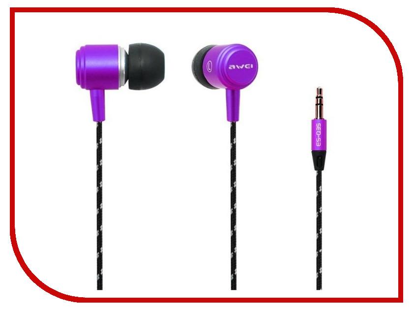 Наушники Awei Q35 Purple<br>