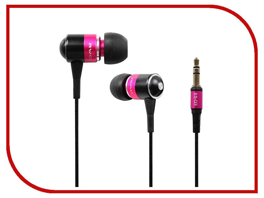 Awei ES-Q3 Pink keneksi q3 gold