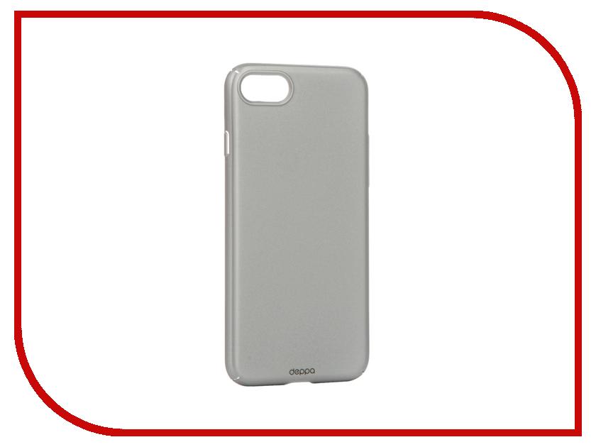 Аксессуар Чехол Deppa Air Case для APPLE iPhone 7 Silver 83268<br>