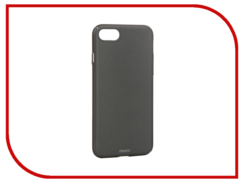 Аксессуар Чехол Deppa Air Case для APPLE iPhone 7 Graphite 83269<br>