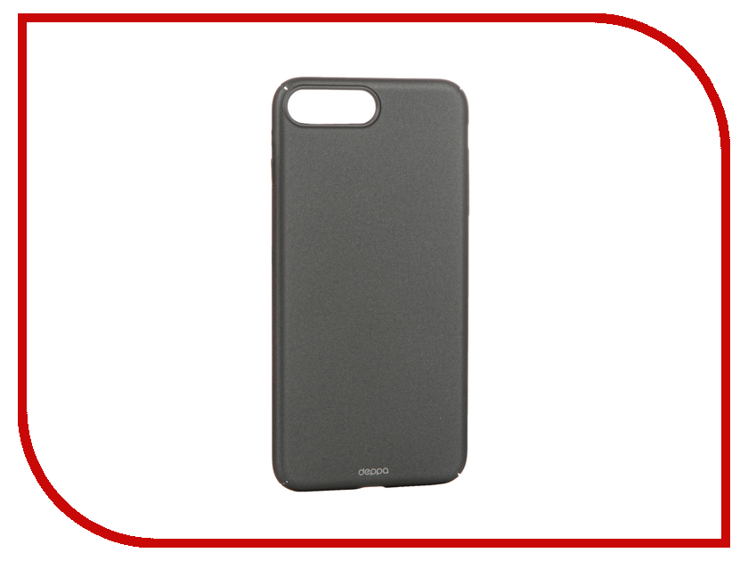 Аксессуар Чехол Deppa Air Case для APPLE iPhone 7 Plus Graphite 83274<br>