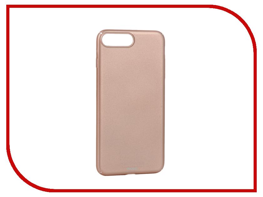 Аксессуар Чехол Deppa Air Case для APPLE iPhone 7 Plus Pink Gold 83276<br>
