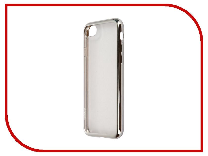 Аксессуар Чехол Deppa Gel Plus Case для APPLE iPhone 7 Silver 85254<br>