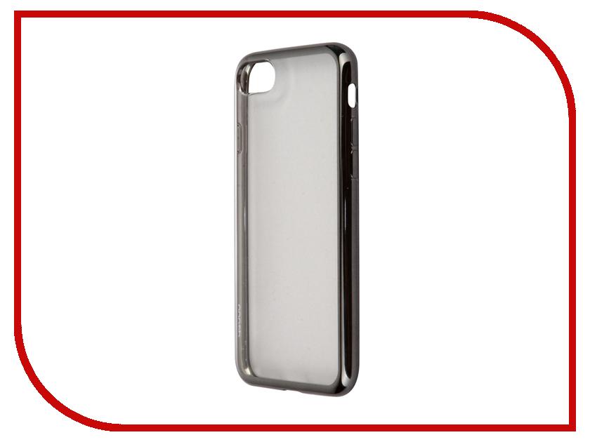 Аксессуар Чехол Deppa Gel Plus Case для APPLE iPhone 7 Graphite 85255<br>