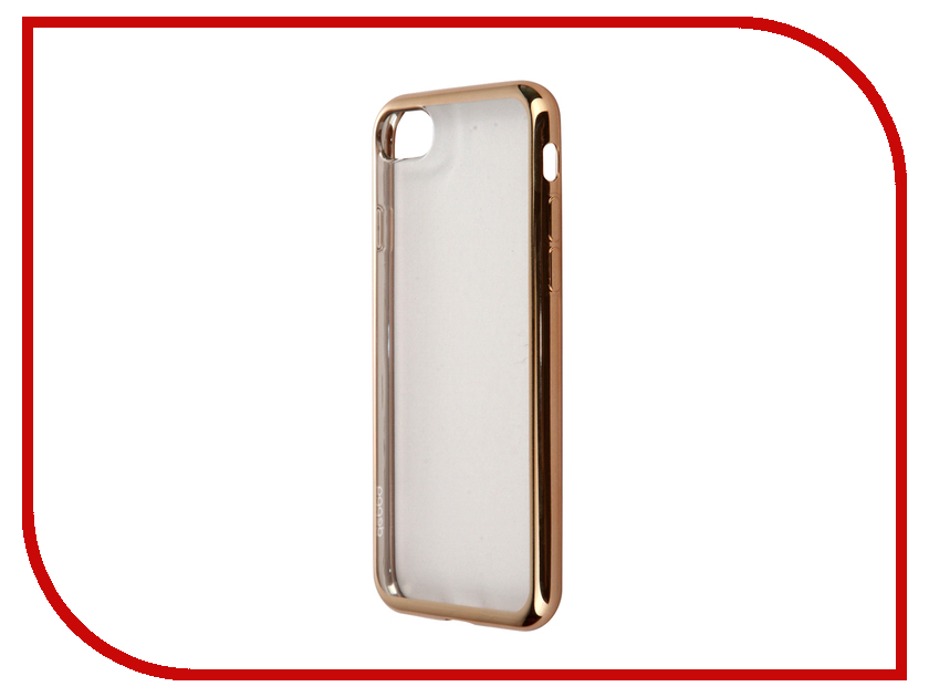 Аксессуар Чехол Deppa Gel Plus Case для APPLE iPhone 7 Gold 85256<br>