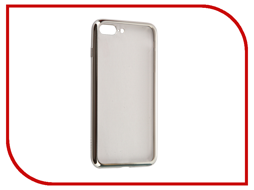 Аксессуар Чехол Deppa Gel Plus Case для APPLE iPhone 7 Plus Silver 85259<br>