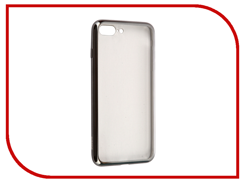 Аксессуар Чехол Deppa Gel Plus Case для APPLE iPhone 7 Plus Graphite 85260<br>