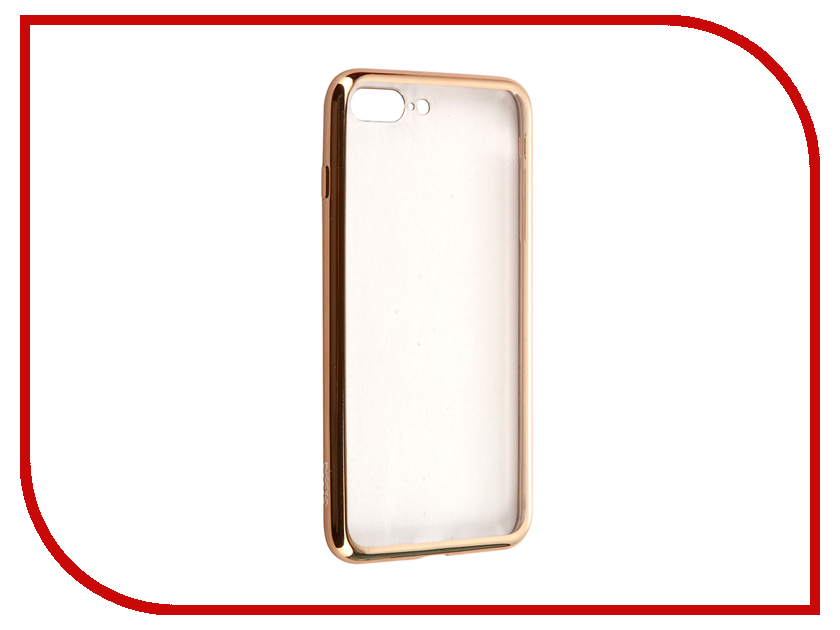 Аксессуар Чехол Deppa Gel Plus Case для APPLE iPhone 7 Plus Gold 85261<br>