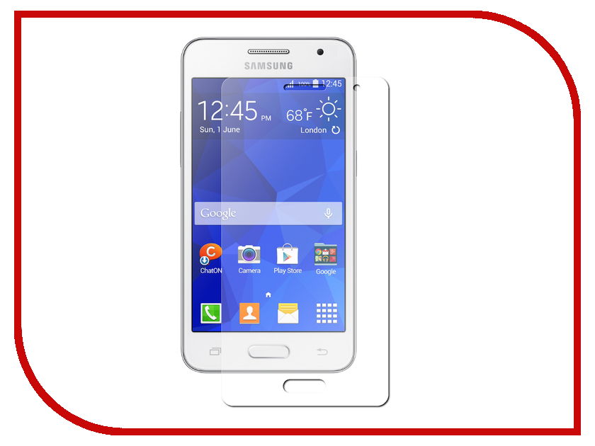 Аксессуар Защитная пленка Samsung Galaxy Core 2 SM-G355 Krutoff противоударная 12612<br>