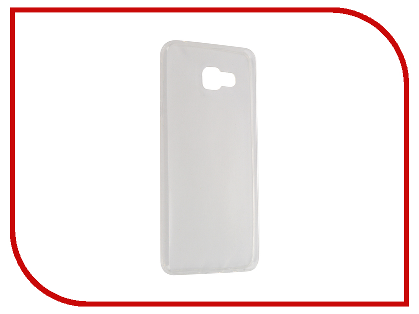 Аксессуар Чехол Samsung Galaxy A7 2016 SM-A710F Krutoff Transparent 11709 аксессуар чехол samsung sm a710f galaxy a7 2016 aksberry white