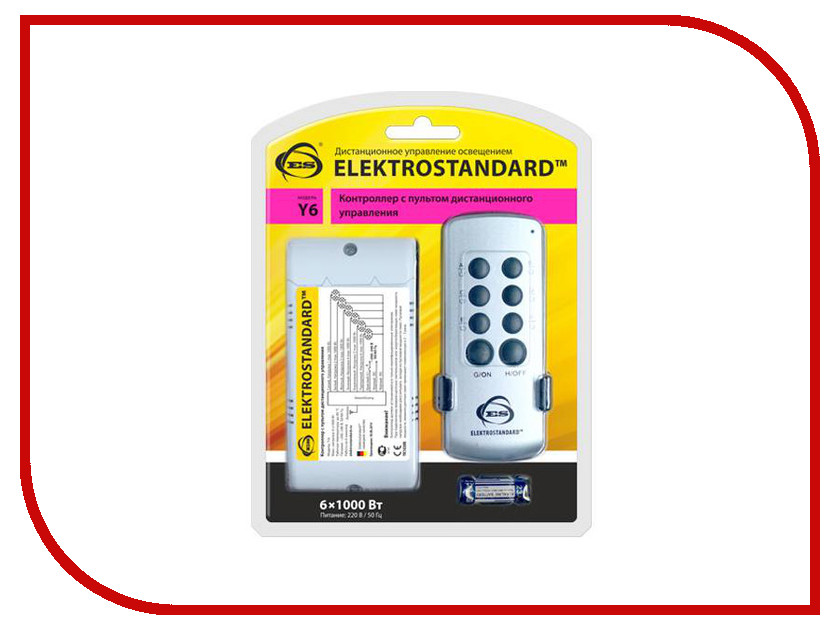 Пульт ДУ Elektrostandard Y6<br>