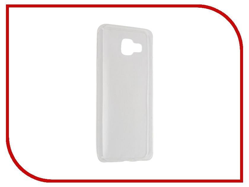 Аксессуар Чехол Samsung Galaxy A3 2016 SM-A310F Krutoff Transparent 11705 аксессуар чехол samsung galaxy a3 2017 cojess tpu 0 3mm transparent