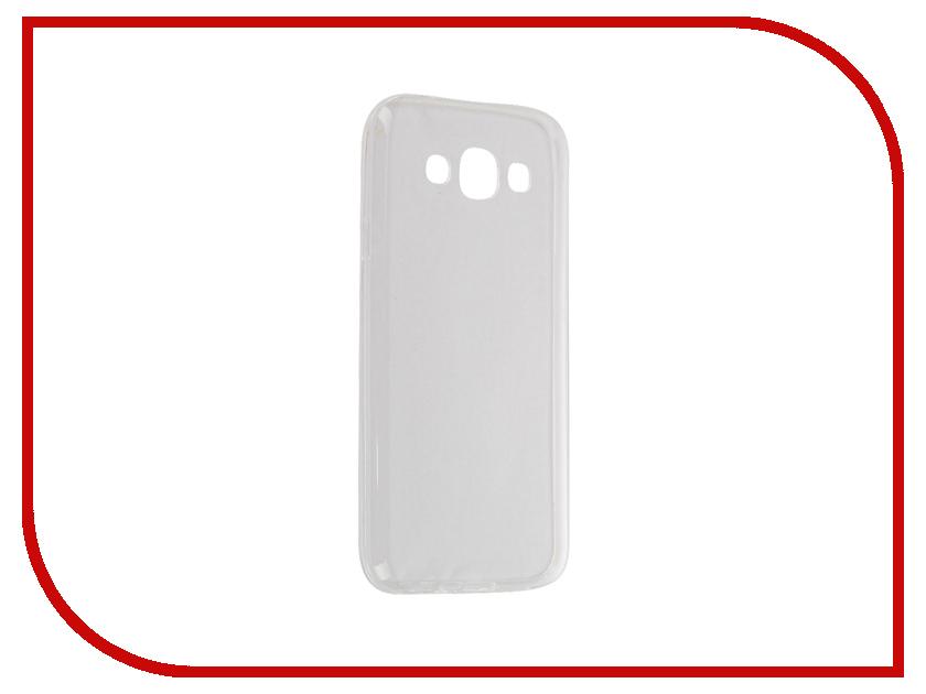 Аксессуар Чехол Samsung Galaxy E5 SM-E500F Krutoff Transparent 11517
