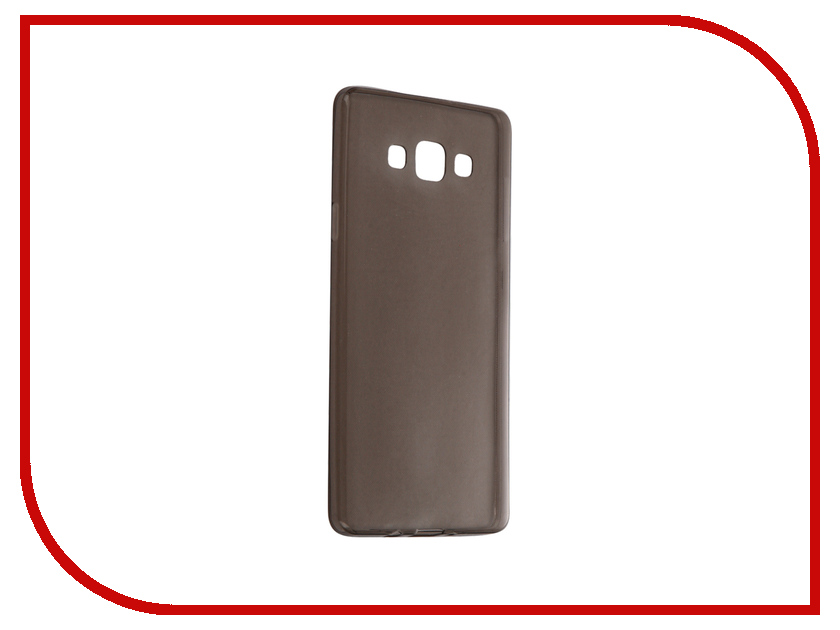 Аксессуар Чехол Samsung Galaxy A7 SM-A700FD Krutoff Transparent-Black 11516