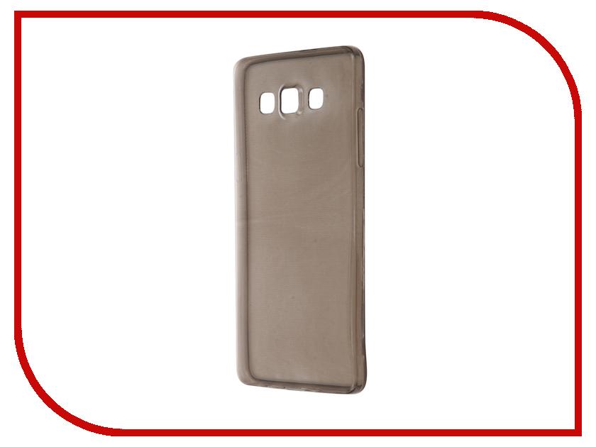 Аксессуар Чехол Samsung Galaxy A5 SM-A500F Krutoff Transparent-Black 11514<br>