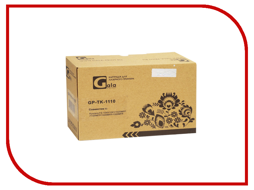 Картридж GalaPrint GP-TK-1110 для Kyocera Mita FS-1040/1020MFP/1120MFP alzenit for kyocera dk 1110 fs 1040 1020 1120mfp 1060 p1025d oem new imaging drum unit printer parts on sale