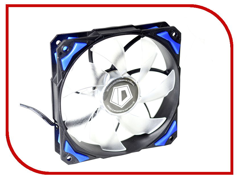 Вентилятор ID-Cooling PL-12025-B original sunon 12025 12cm 220v dp201at 2122hbl gn 120 long wide 25 thick double ball cooling fan
