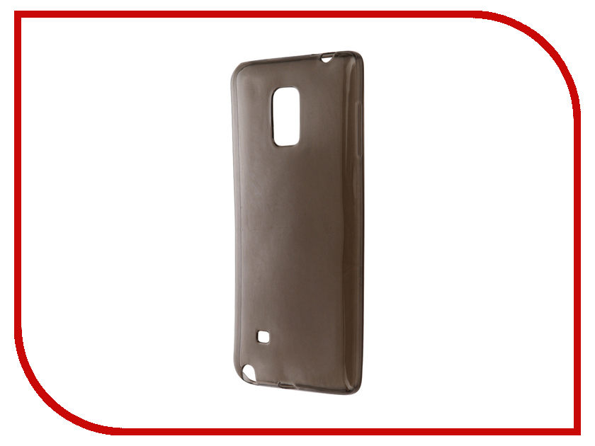 Аксессуар Чехол Samsung Galaxy Note Edge SM-N915F Krutoff Transparent-Black 11492<br>