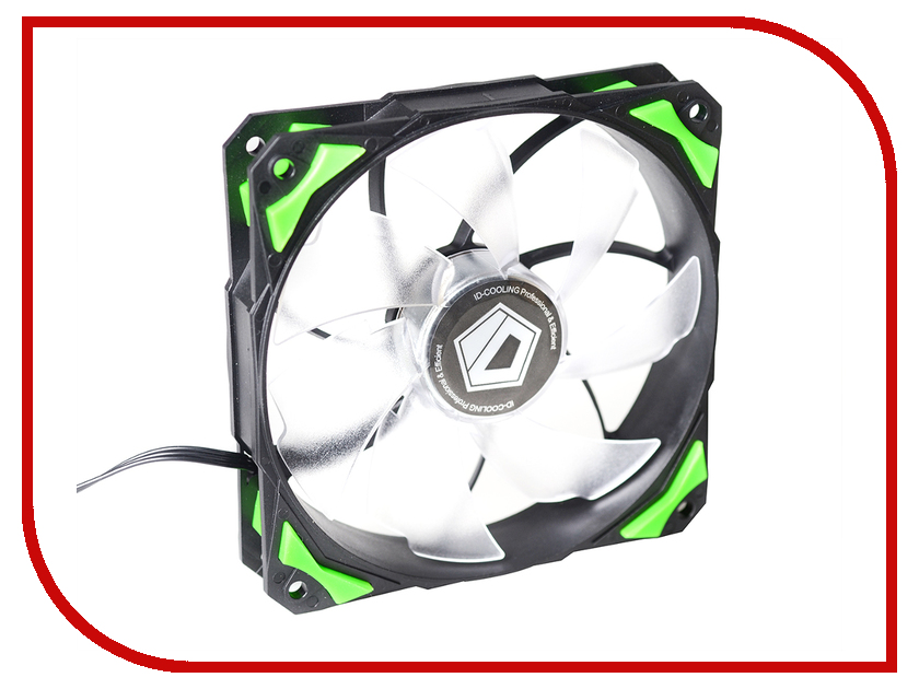 Вентилятор ID-Cooling PL-12025-G original sunon 12025 12cm 220v dp201at 2122hbl gn 120 long wide 25 thick double ball cooling fan