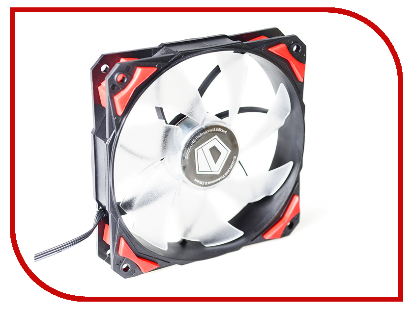 Вентилятор ID-Cooling PL-12025-R original sunon 12025 12cm 220v dp201at 2122hbl gn 120 long wide 25 thick double ball cooling fan