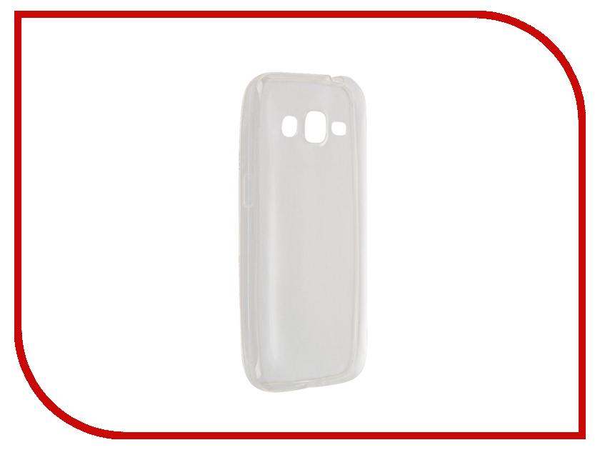 Аксессуар Чехол Samsung Galaxy Core Prime SM-G360H Krutoff Transparent 11475 чехол для samsung galaxy core gt i8262