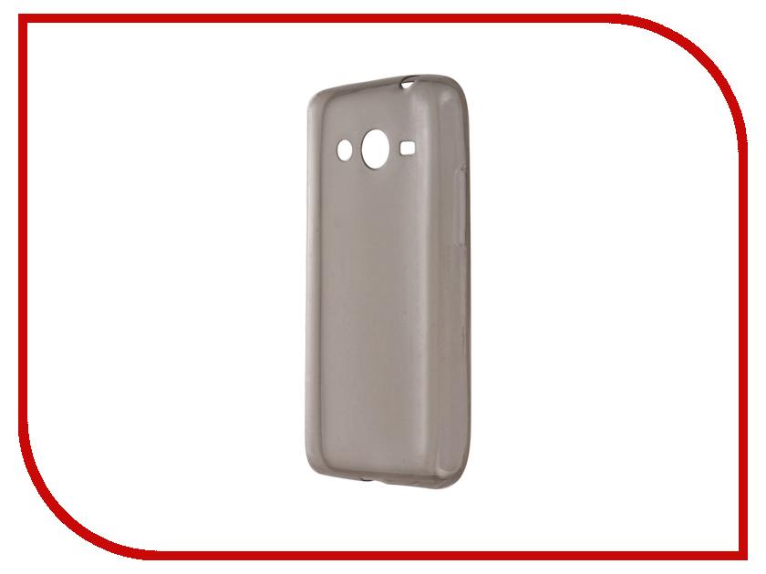 Аксессуар Чехол Samsung Galaxy Core 2 SM-G355 Krutoff Transparent-Black 11474<br>