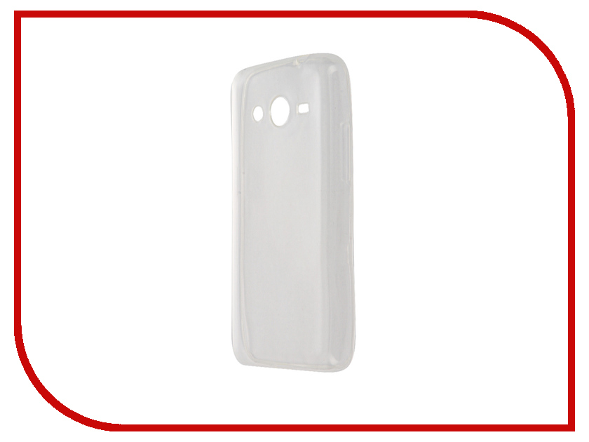 Аксессуар Чехол Samsung Galaxy Core 2 SM-G355 Krutoff Transparent 11473 samsung core 2 dual