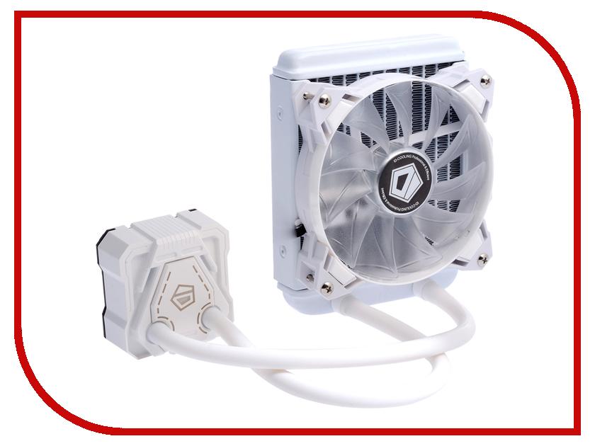 Водяное охлаждение ID-Cooling Icekimo 120W White (Intel LGA2011/LGA1150/1151/1155/1156/AMD AM2/AM2+/AM3/AM3+/FM1/FM2/FM2+) кулер id cooling dk 03 halo led white intel lga1150 1151 1155 1156