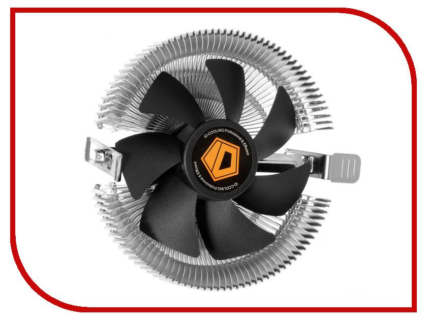 Кулер ID-Cooling DK-01 (Intel LGA1150/1155/1156/775/AMD FM2+/FM2/FM1/AM3+/AM3/AM2+/AM2) кулер id cooling dk 03 halo led white intel lga1150 1151 1155 1156