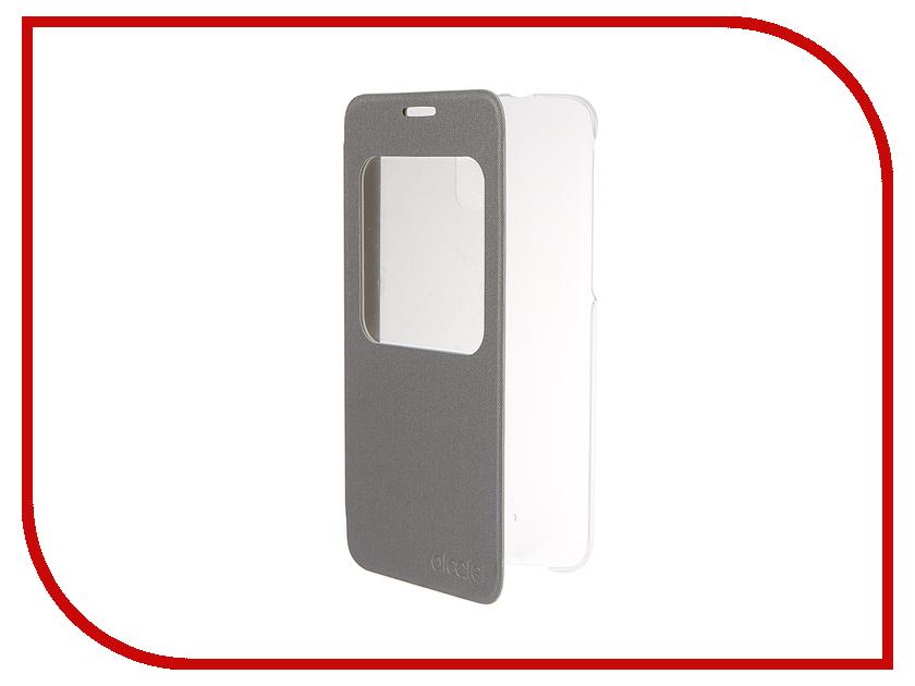 Аксессуар Чехол Alcatel 5056 FlipCase Silver ALC-G5056-3SALAFG