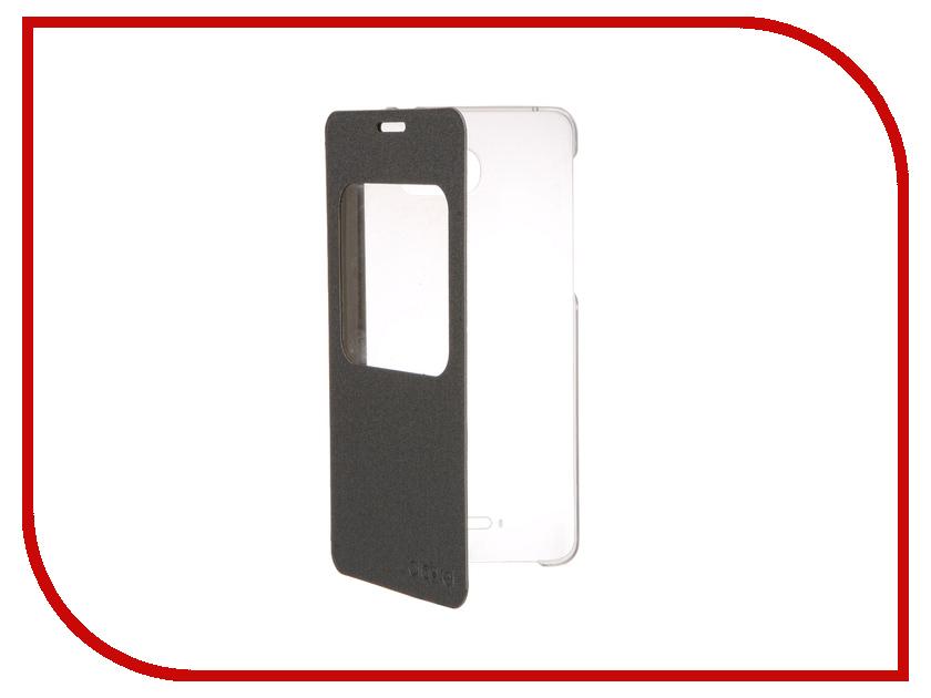 Аксессуар Чехол Alcatel 5095 FlipCase Silver ALC-G5095-3SALAFG