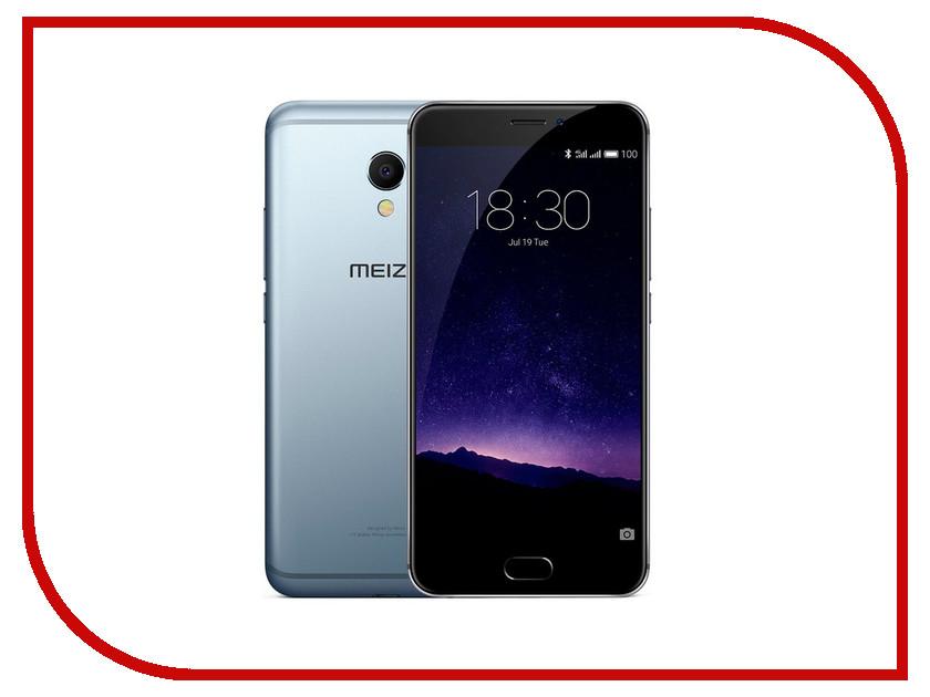 Сотовый телефон Meizu MX6 32Gb Gray<br>