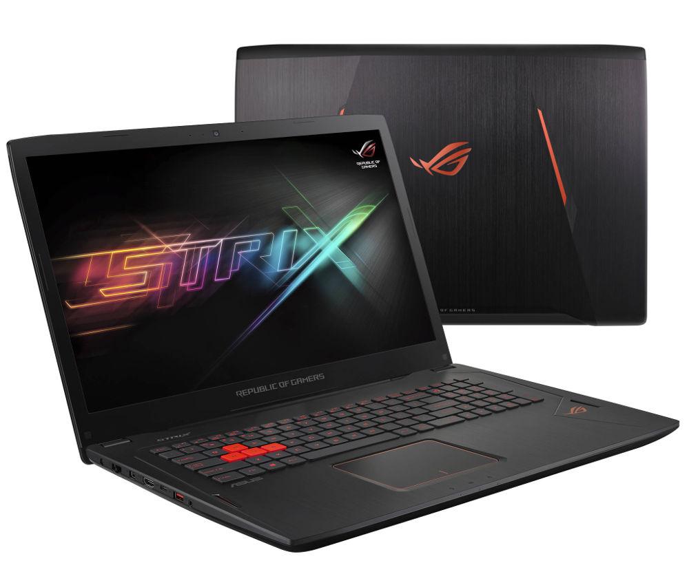 Ноутбук ASUS Republic of Gamers GL702VM 90NB0DQ1-M00790 (Intel Core i7-6700HQ 2.6 GHz/8192Mb/1000Gb + 128Gb SSD/No ODD/nVidia GeForce GTX 1060 6144Mb/Wi-Fi/Cam/17.3/1920x1080/Windows 10 64-bit) от Pleer